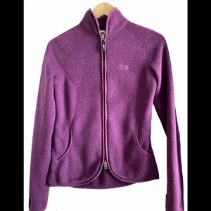 North Face Crescent Point Full Zip Jacket XS